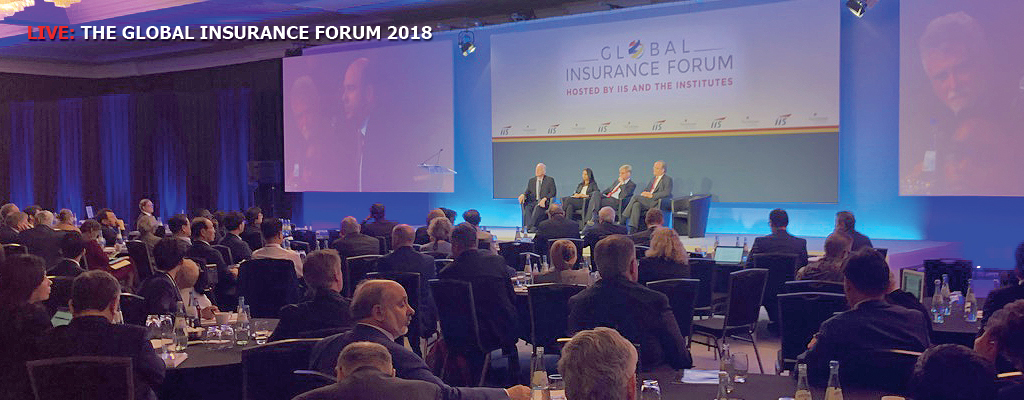 </font><!--sl--><!--topevent-->IIS Global Insurance Forum 2018 / Day1: The innovation transformation of insurance