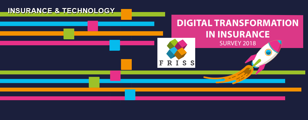 FRISS Survey: The insurance industry is catching up in digital transformation