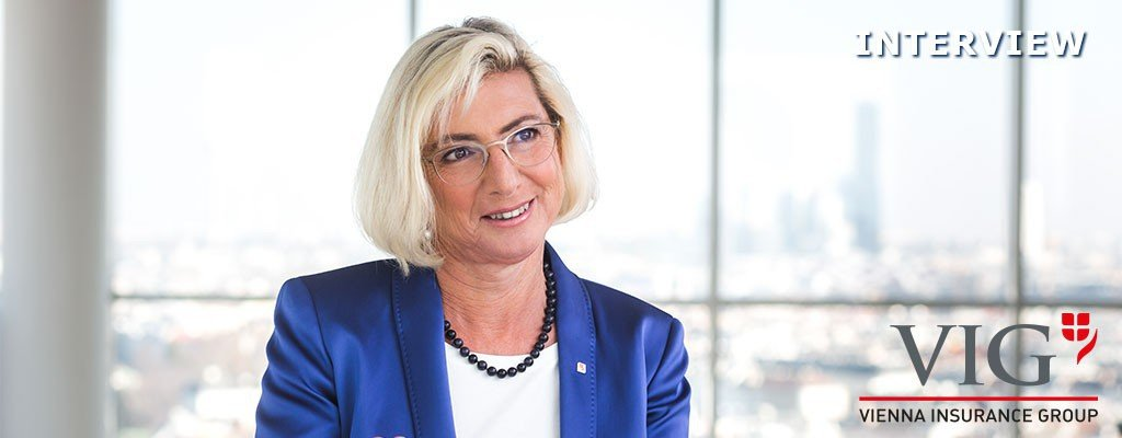 INTERVIEW: Elisabeth STADLER, CEO, VIG - Vienna Insurance Group