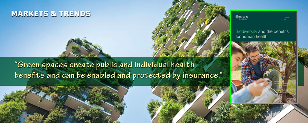 A billion-dollar walk in the park: health benefits of nature explored in Swiss Re report